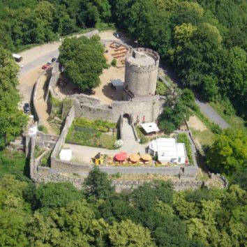 Luftbild Schloss Alsbach