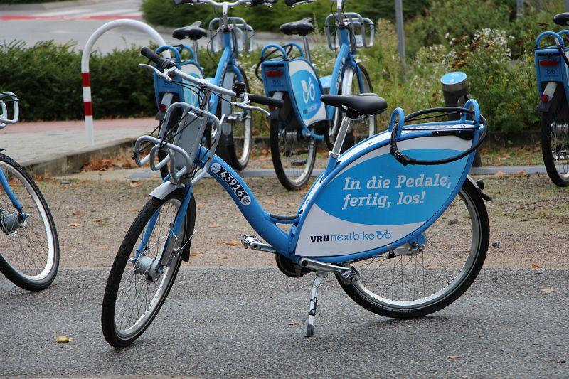 Fahrrad-Mietstation von Nextbike