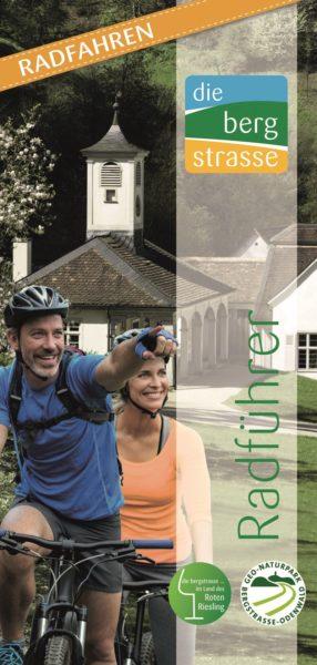 Titeibild der Broschüre Radführer Bergstraße